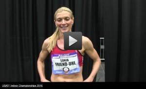USATF.TV Videos Sonja Friend Uhl Masters Women s Mile Champion USATF Indoor Championships 2016